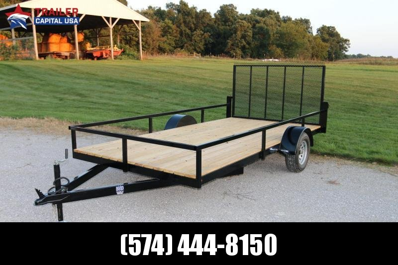 2020 BND 7X14 Open Utility Trailer ( All Tube Frame)