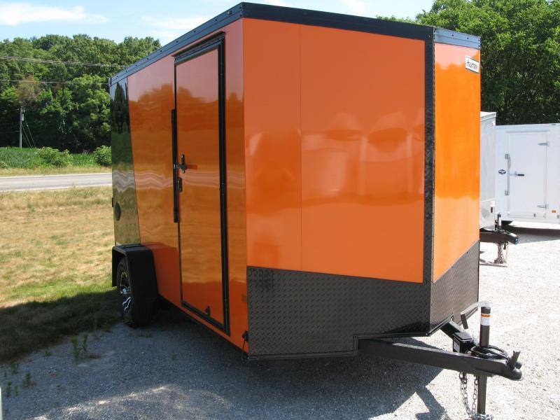 2020 Haulmark Transport 7x12 with Black Trim Package (7' Interior Height)