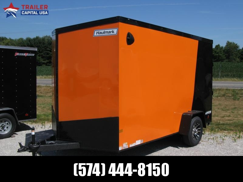 2020 Haulmark Transport 7x12 with Black Trim Package (7' Interior Height)