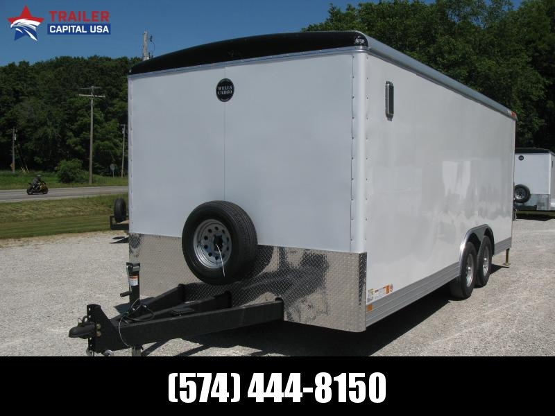 2021 Wells Cargo Wagon HD 8.5x20 Enclosed Cargo Trailer