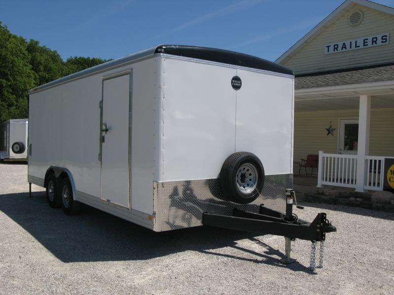 2021 Wells Cargo Wagon HD 8.5x20 Enclosed LandscapeTrailer