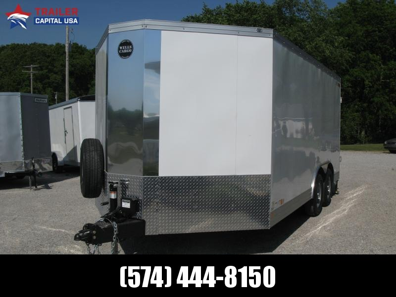 2021 Wells Cargo Wagon HD 8.5x16 Enclosed Cargo Trailer