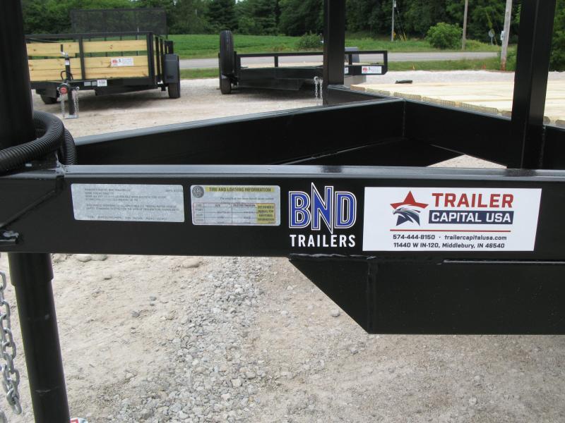 2021 BND 6x12 Standard Sides Open Utility Trailer