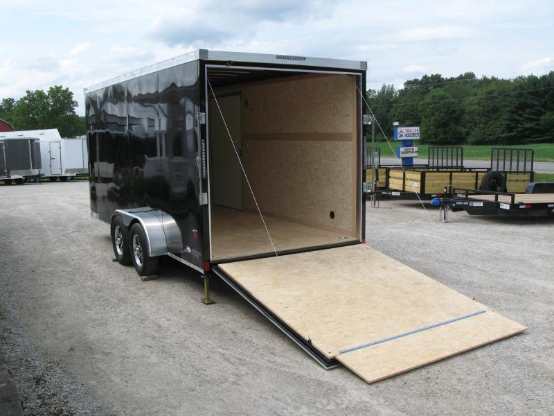 2022 American Hauler Night Hawk 7x16 Enclosed Cargo Trailer