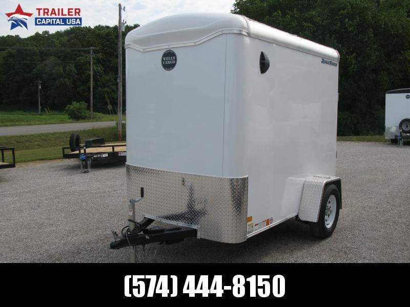 2021 Wells Cargo Road Force 5x8 Enclosed Cargo Trailer