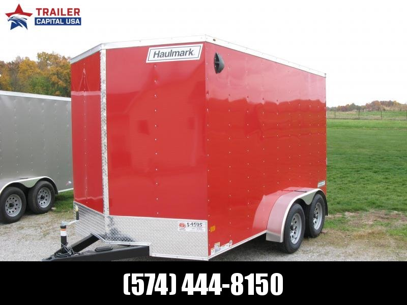 2021 Haulmark PassPort 7x12 Deluxe 7' Interior Height Enclosed Cargo Trailer