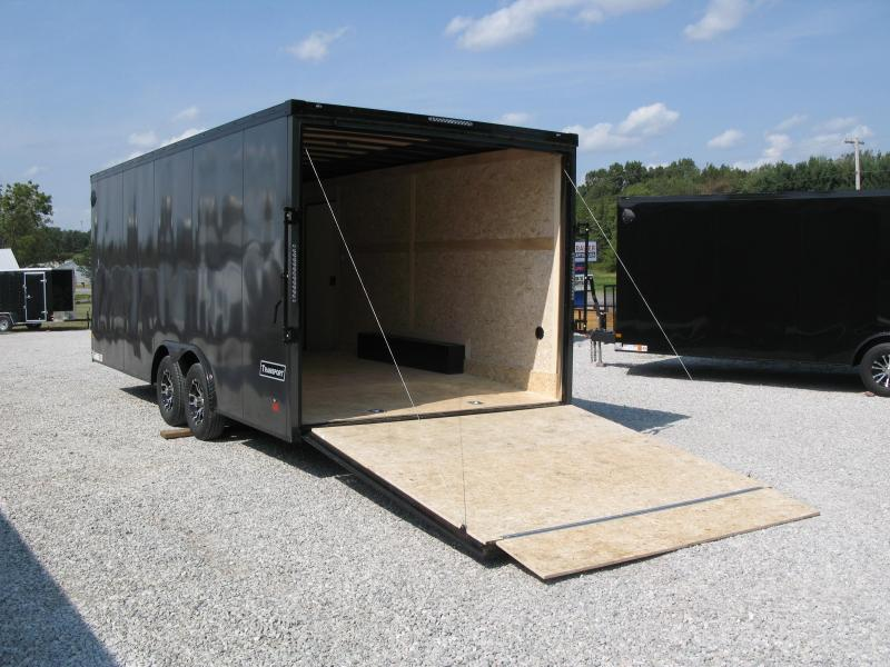 2022 Haulmark Transport 8.5x20 Phantom Package Enclosed Cargo Trailer
