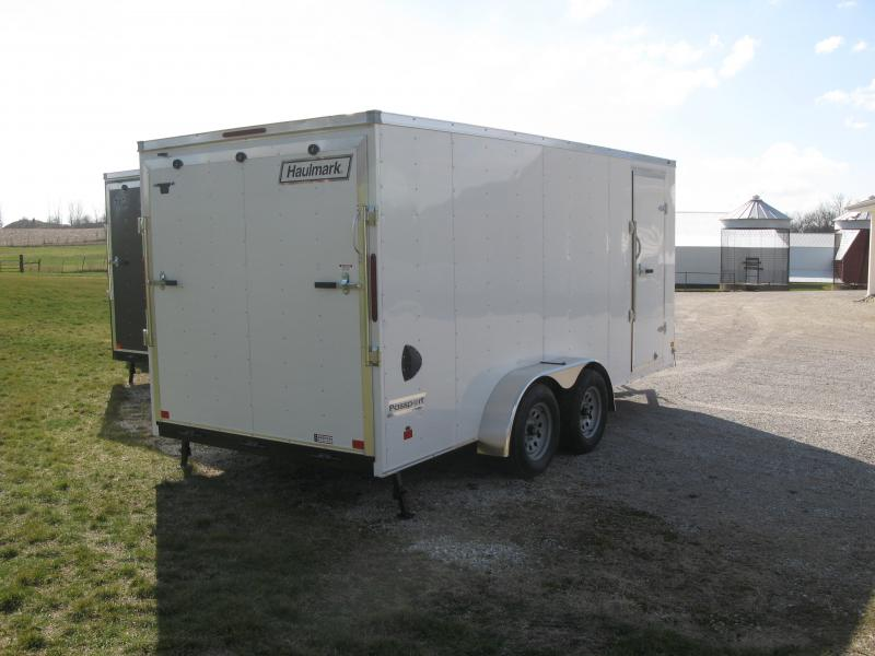 "2021 Haulmark Passport 7x16 Deluxe (6'6"" Interior Height)"