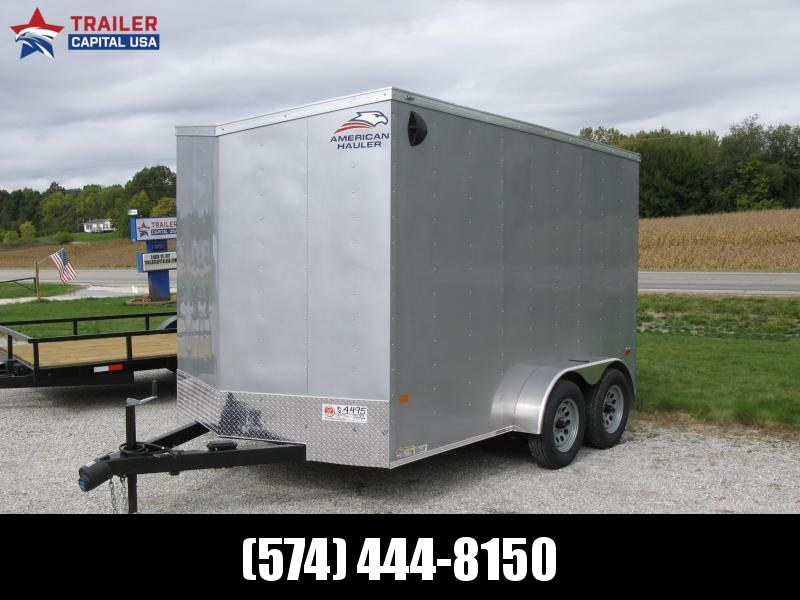 2021 American Hauler Arrow 7x12 Deluxe 7' Interior Height Enclosed Cargo Trailer