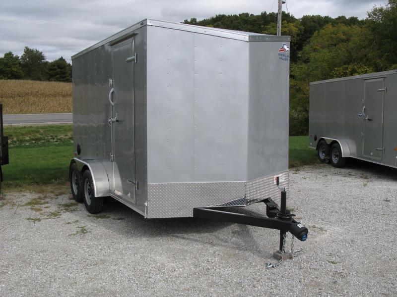 2021 American Hauler Arrow 7x12 Deluxe 7' Interior Height Enclosed Cargo Trailer