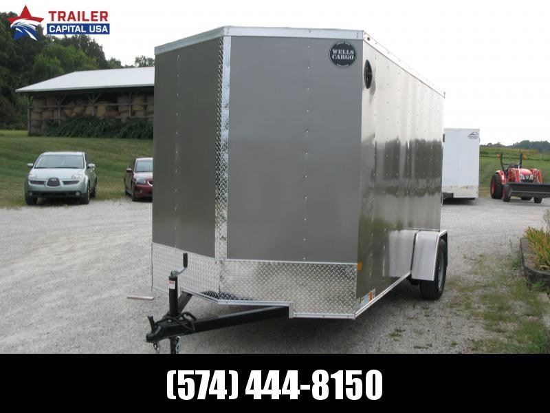2022 Wells Cargo Fast Trac 6x12 Deluxe Enclosed Cargo Trailer