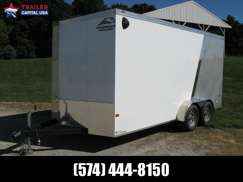 2021 American Hauler Night Hawk 7x16 7' Interior Height Enclosed Cargo Trailer