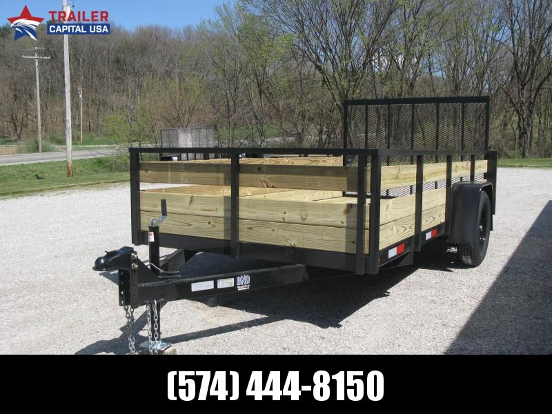 2021 BND 6x12 High Side Open Utility Trailer
