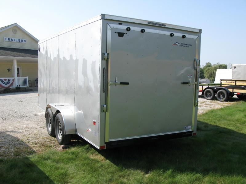 "2021 American Hauler Arrow 7x16 Deluxe 6'6"" Interior Height Enclosed Cargo Trailer"