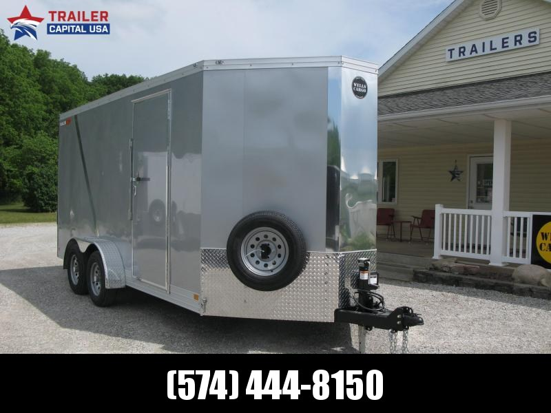 2021 Wells Cargo Wagon HD 7x16 Enclosed Cargo Trailer