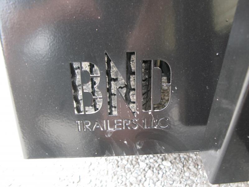 2021 BND 7x12 High Side Utility Trailer