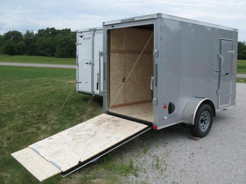 2021 American Hauler Arrow 5x10 Deluxe 6' Interior Height Enclosed Cargo Trailer