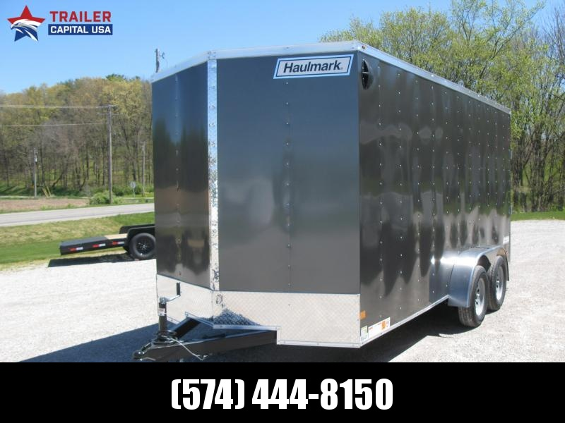 2021 Haulmark Passport 7x16 Deluxe Enclosed Cargo Trailer