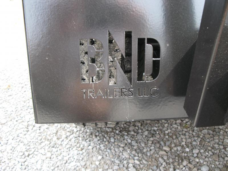 2021 BND 6x12 Standard Sides Utility Trailer