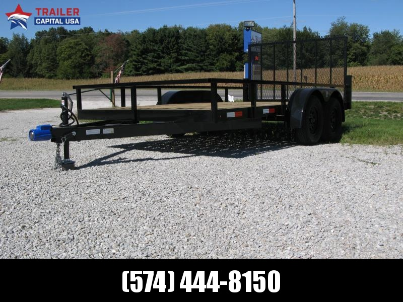 2021 BND Trailer Sales Inc 7x14 Tandem Open Utility Utility Trailer