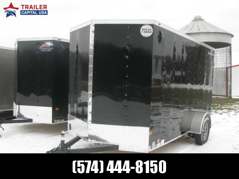 "2021 Wells Cargo Fast Track 6x12 Deluxe 6'6"" Interior Height Enclosed Cargo Trailer"
