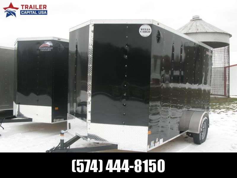 """2021 Wells Cargo Fast Track 6x12 Deluxe 6'6"""" Interior Height Enclosed Cargo Trailer"""