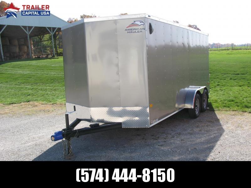 "2021 American Hauler Arrow 7x16 Basic 6'6"" Interior Height Enclosed Cargo Trailer"