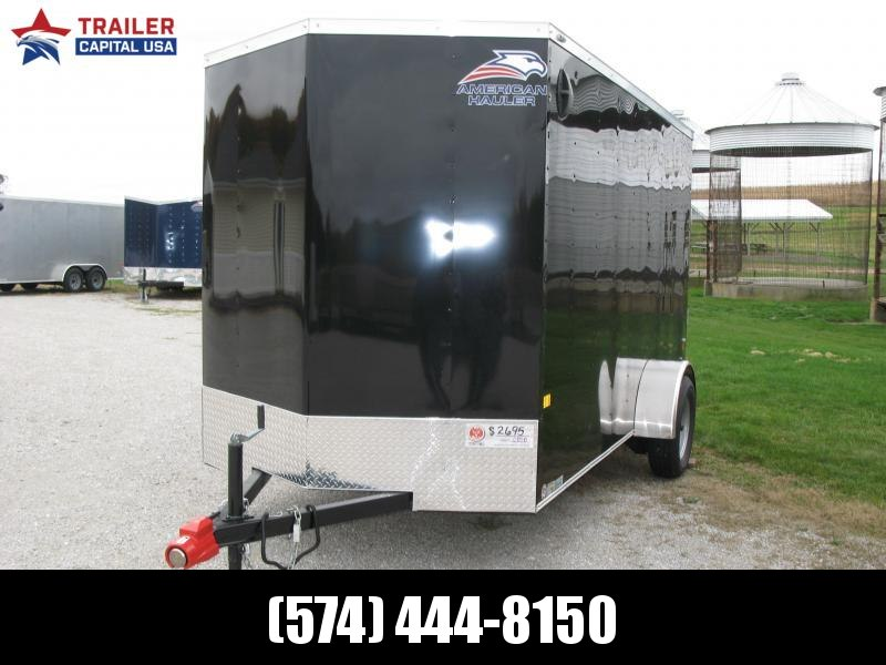 "2021 American Hauler Arrow 6x12 Basic 6'6"" Interior Height Enclosed Cargo Trailer"