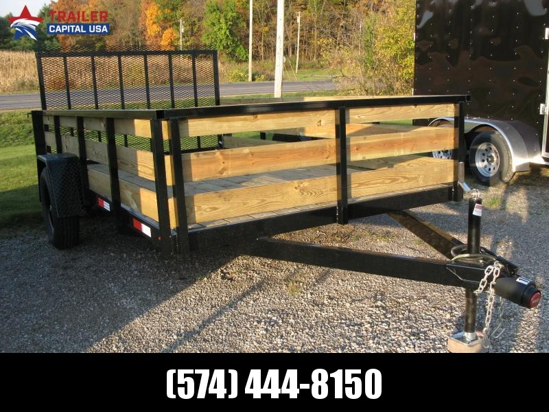 2021 Other 7x12 High Side Utility Trailer