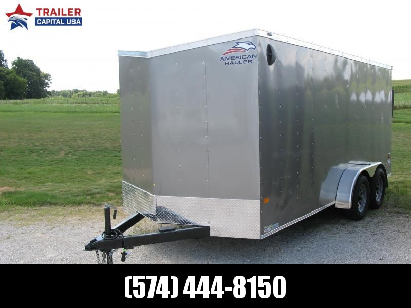 "2021 American Hauler Arrow 7x16 Basic 6'6"" Interior Height Enclosed Cargo Trailer"