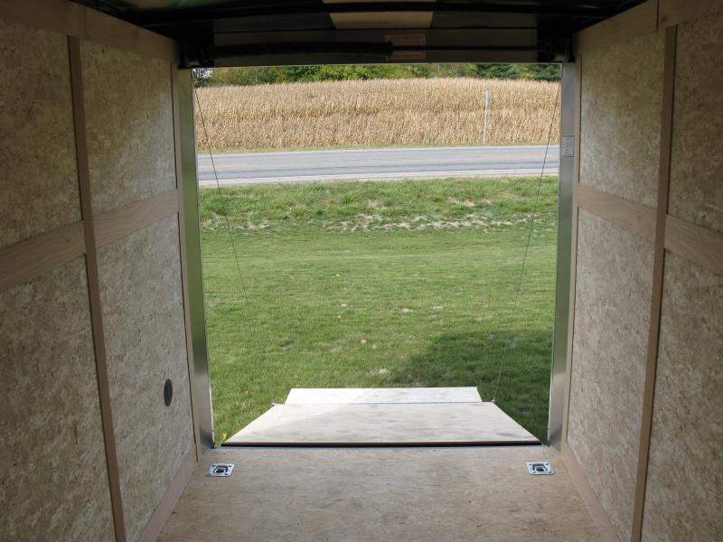 "2021 Haulmark Passport 6x12 Deluxe 6'6"" Interior Height Enclosed Cargo Trailer"