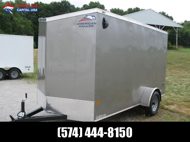 "2021 American Hauler Arrow 6x12 6'6"" Basic Enclosed Cargo Trailer"