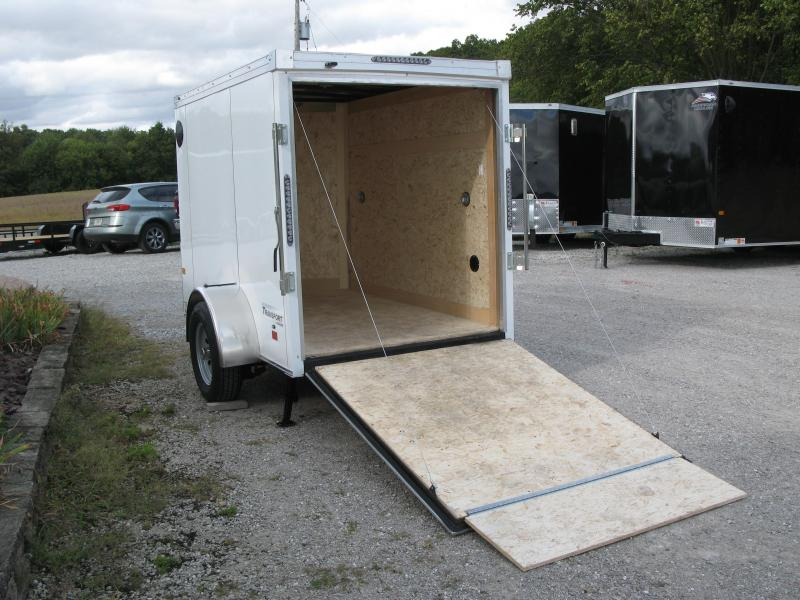 2022 Haulmark Transport V-Nose 5x8 Enclosed Cargo Trailer