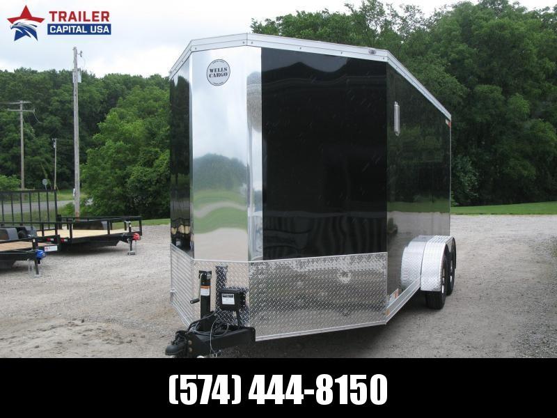 2022 Wells Cargo Wagon V-Nose HD 7x16 Enclosed Cargo Trailer