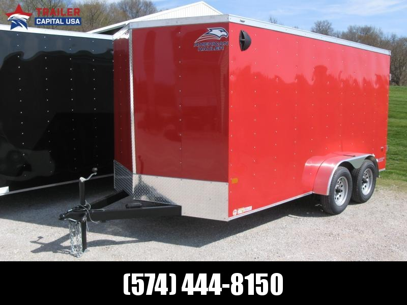 2021 American Hauler Arrow 7x14 Deluxe Enclosed Cargo Trailer