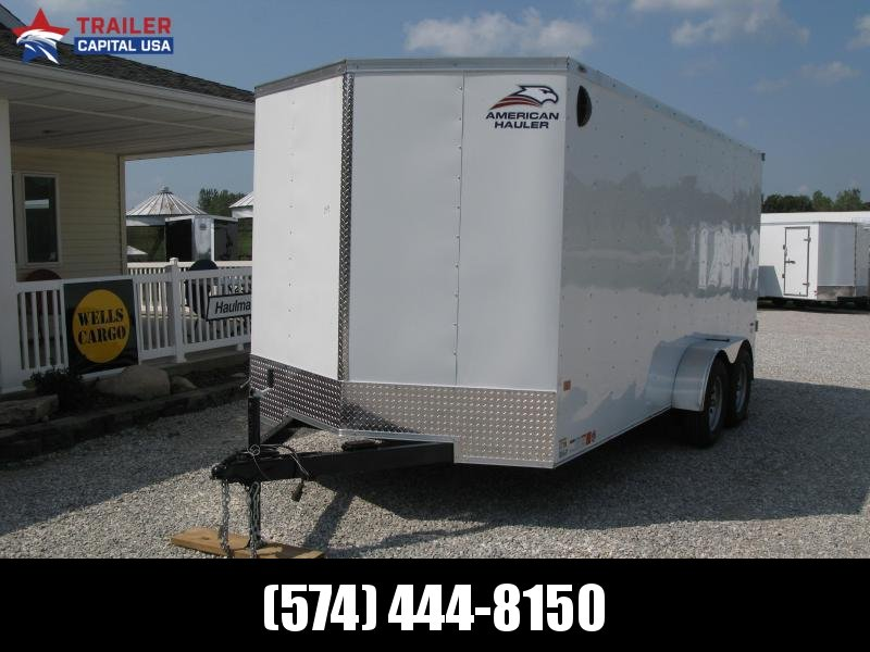 2022 American Hauler Arrow 7x16 Deluxe Enclosed Cargo Trailer