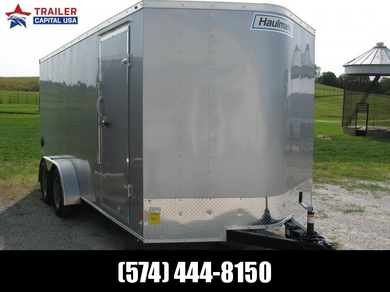 "2021 Haulmark PassPort 7x16 Deluxe 6'6"" Interior Height Enclosed Cargo Trailer"