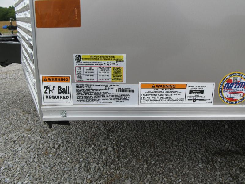 "2021 Haulmark PassPort 7x16 Deluxe 6'6"" Interior Height Enclosed Cargo Trailer"