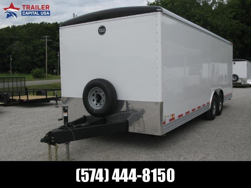 2021 Wells Cargo Wagon HD 8.5x24 Enclosed Cargo Trailer