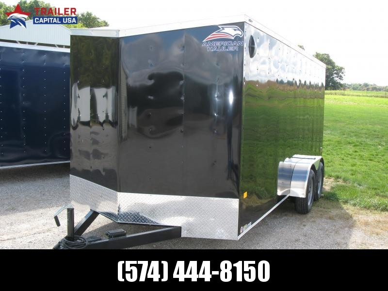 "2021 American Hauler Arrow 7x16 Deluxe 6'6"" Interior Height Enclosed Cargo Trailer"