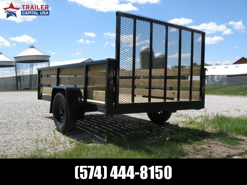 2021 6x10 BND Trailers High Side Open Utility Trailer