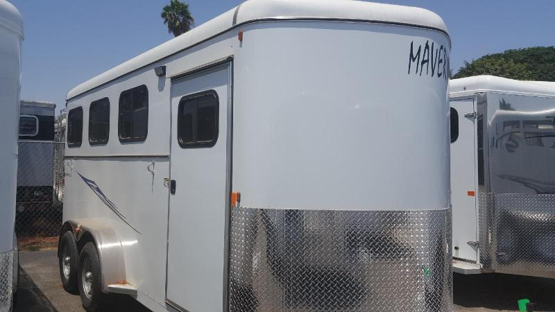2019 Maverick Warmblood 3 Horse Trailer