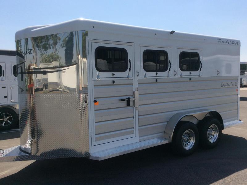 2021 Trails West Manufacturing SANTA FE II Horse Trailer