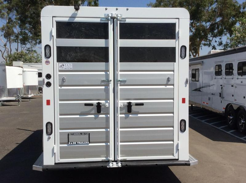 2021 Trails West Manufacturing SANTA FE II Horse Trailer