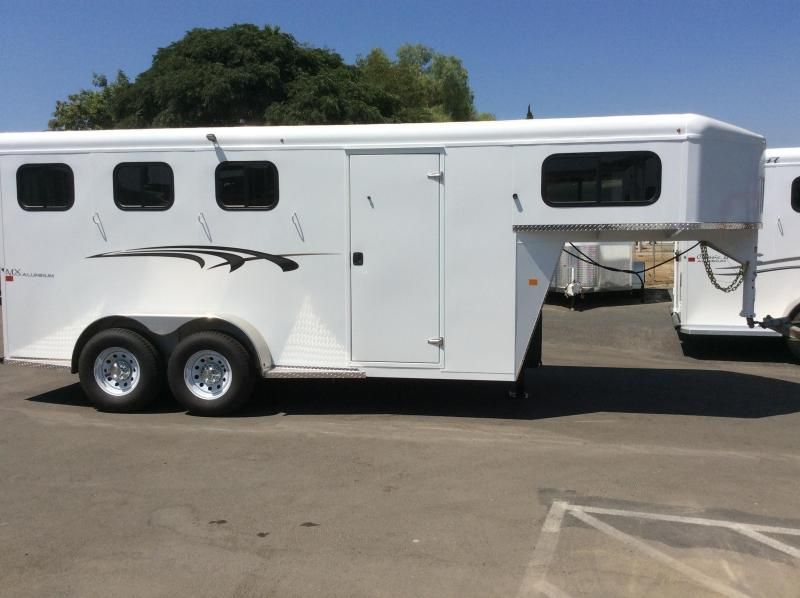 2022 Trails West Manufacturing ADVENTURE MX (GN) Horse Trailer