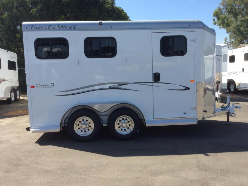 2021 Trails West Manufacturing CLASSIC II Horse Trailer