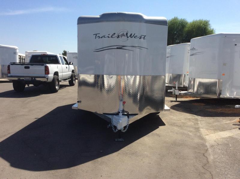 2021 Trails West Manufacturing CLASSIC II Horse Trailer