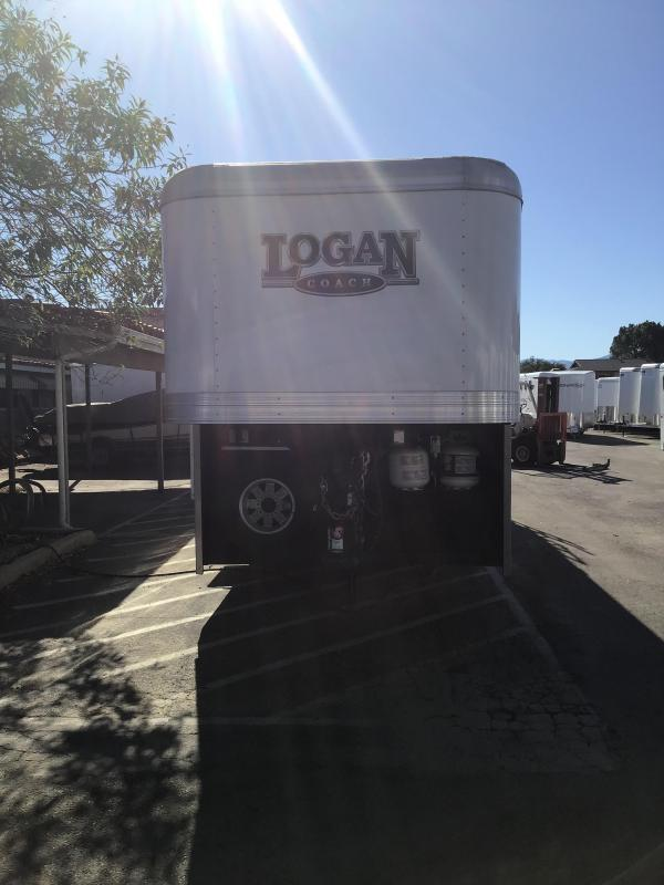 2017 Logan Coach LIMITED Horse Trailer