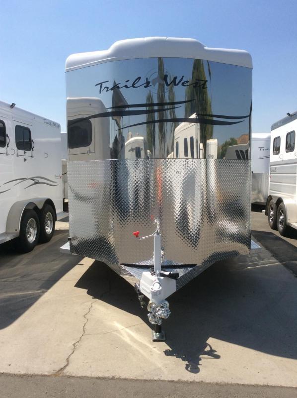 2019 Trails West Manufacturing SANTA FE II Horse Trailer