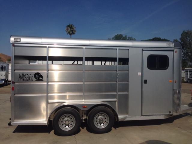 2021 Maverick Aluminum  2 Horse Trailer
